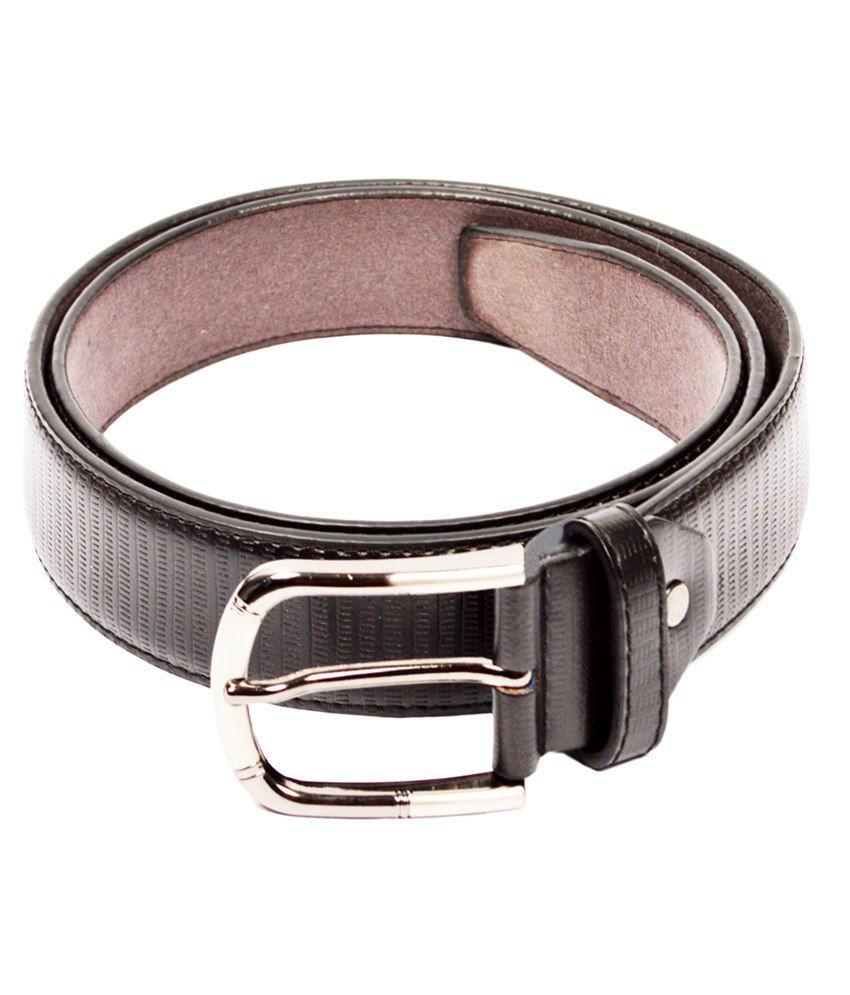 Dandy Black Non Leather Belt