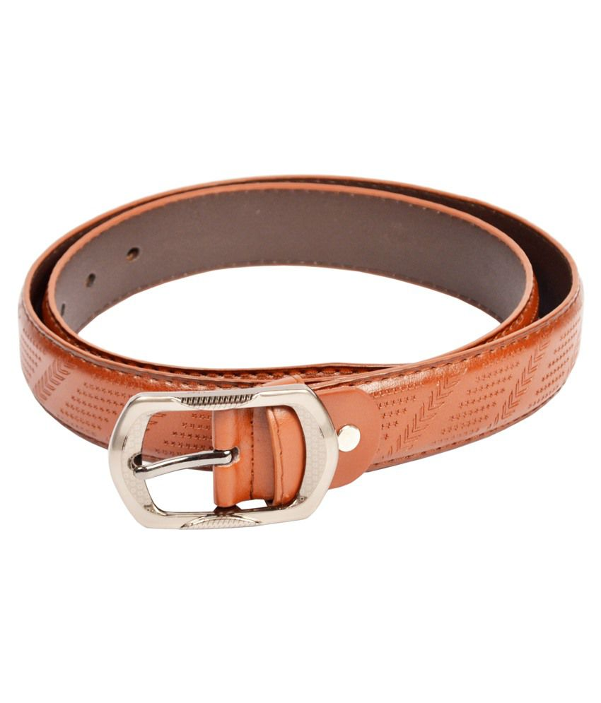 Dandy Brown Non Leather Belt