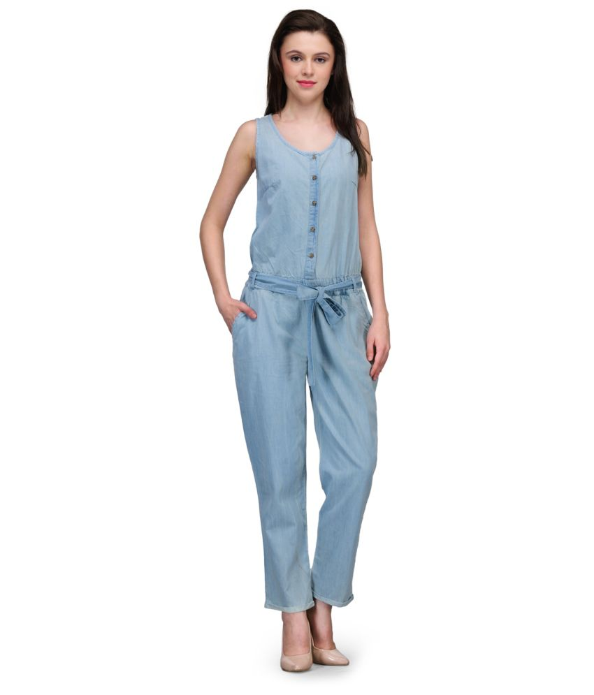Kiosha Blue Denim Jumpsuits - Buy Kiosha Blue Denim Jumpsuits ...