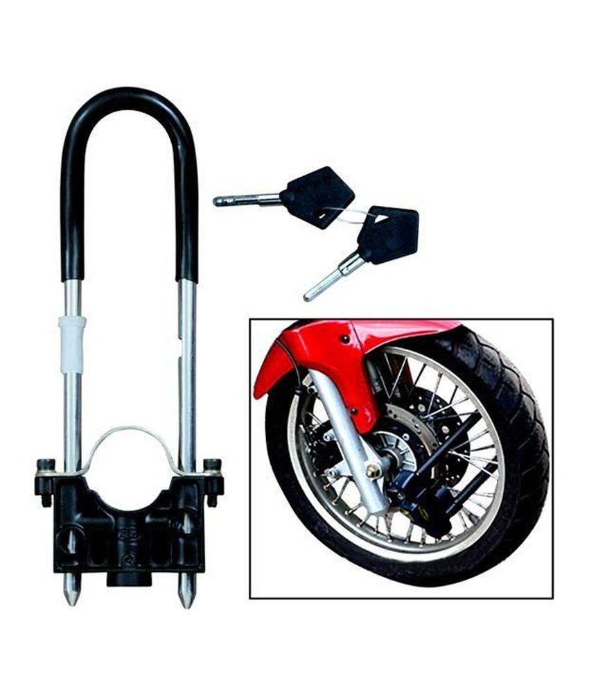 motoway bike front wheel lock buy motoway bike front wheel lock online at low price in india on. Black Bedroom Furniture Sets. Home Design Ideas