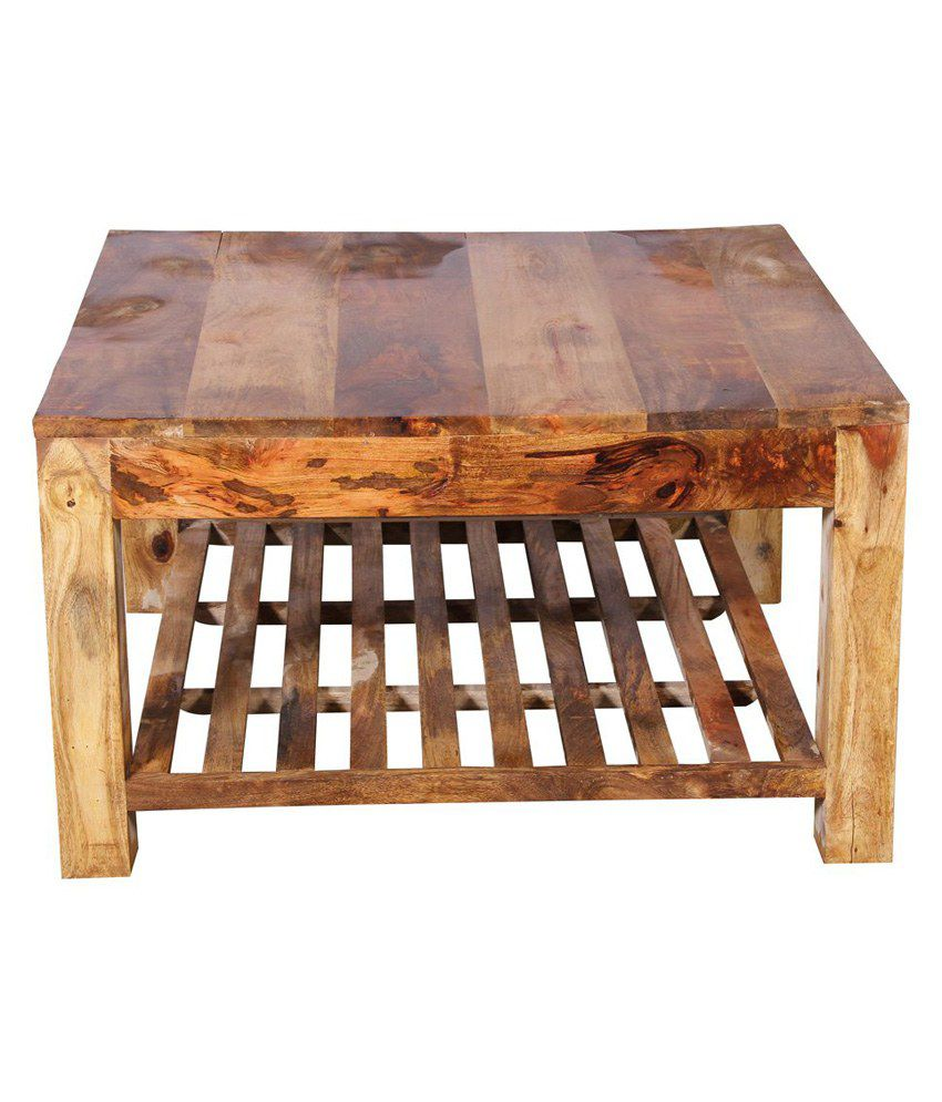 Rockville Sheesham Wood Coffee Table