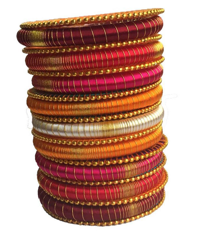 Kuhuk Multicolor Style Diva Acrylic Bangles