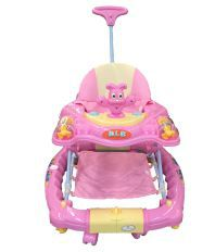 U Smile Pink Foldable Walker