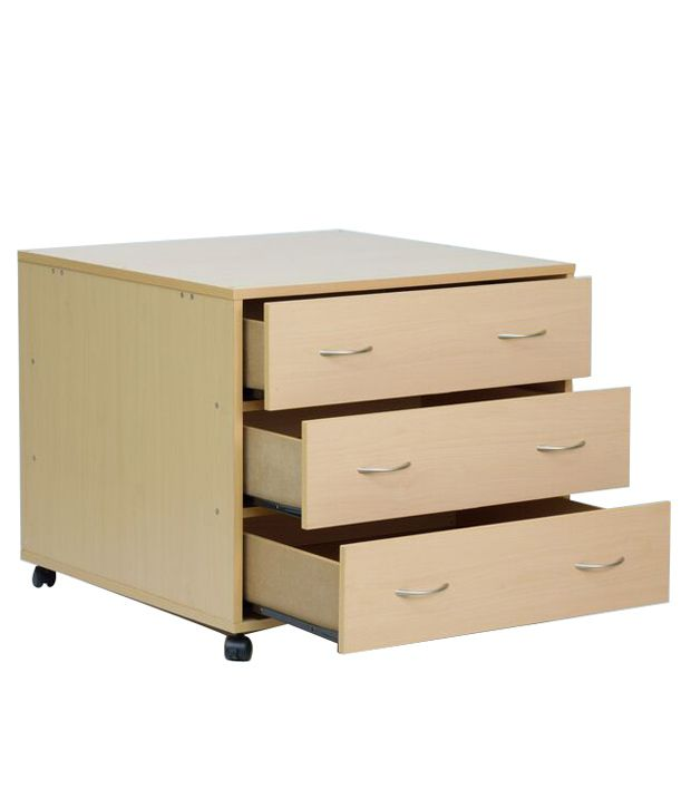 Chest of 3 Drawers in Matte Finish