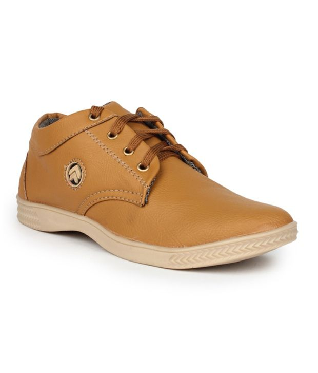 11e Tan Casual Shoes