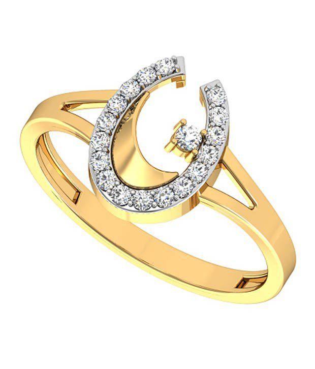 Hsk 9Kt Yellow Gold Diamond Ring