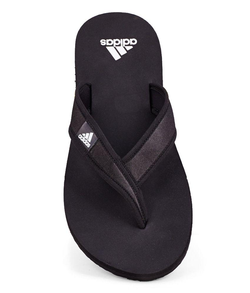 d812044ab6354 Adidas Adi Rio Black Flip Flops Price in India- Buy Adidas Adi Rio ...