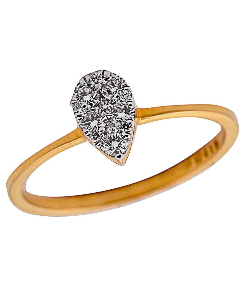 Jagannath Gangaram Pednekar Jewellers 18Kt Gold Ring