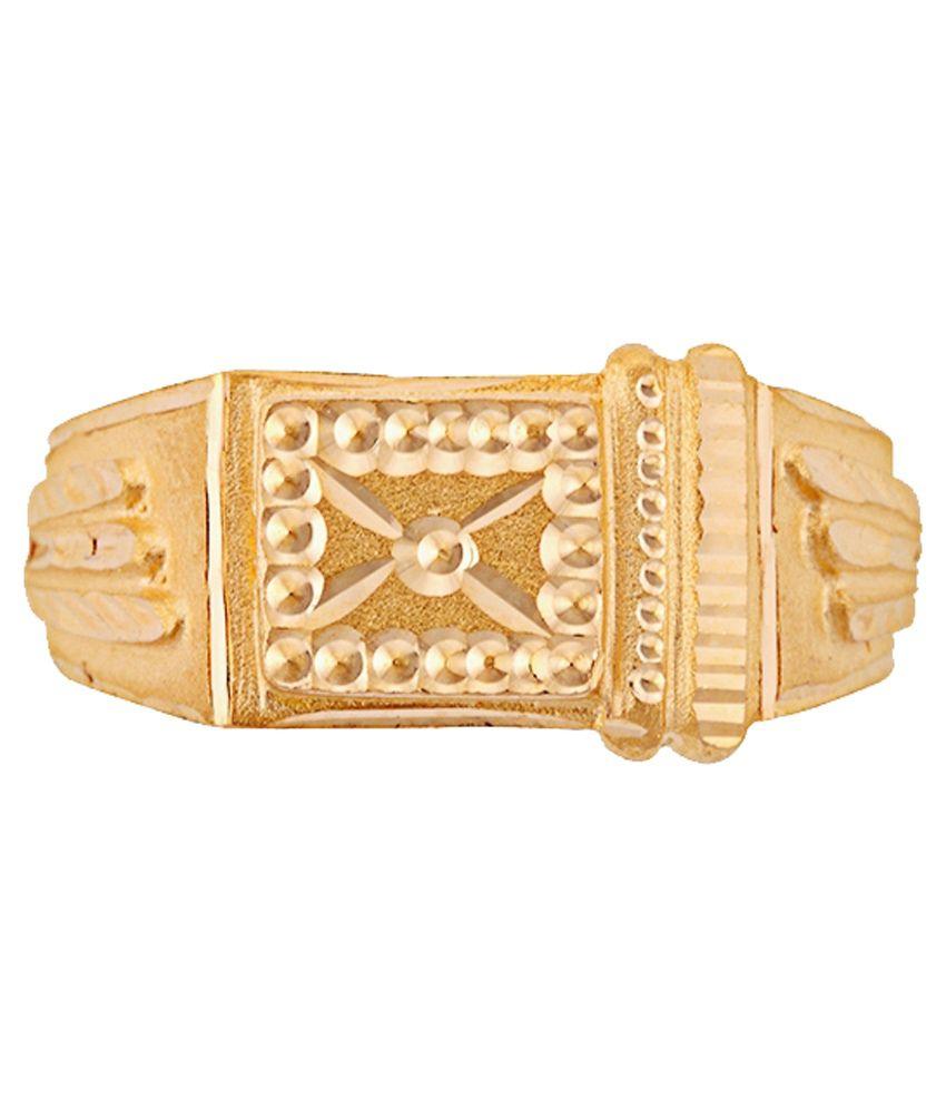 Jagannath Gangaram Pednekar Jewellers 22Kt Gold Ring