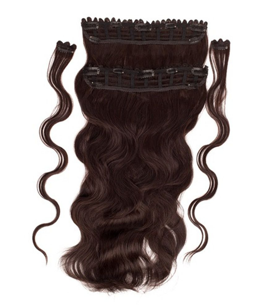 Bblunt B Long Length And Volume Clip On Hair Extension Natural
