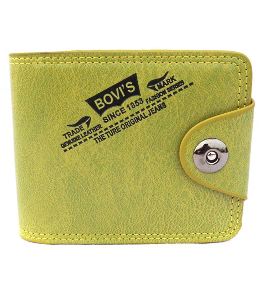 Bovis Green Regular Wallet