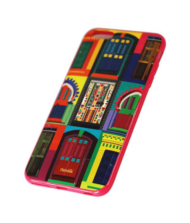 detailed look 9bd5f fef5f Chumbak Multicolor Back Cover For Apple Iphone 6 Plus - Printed Back ...