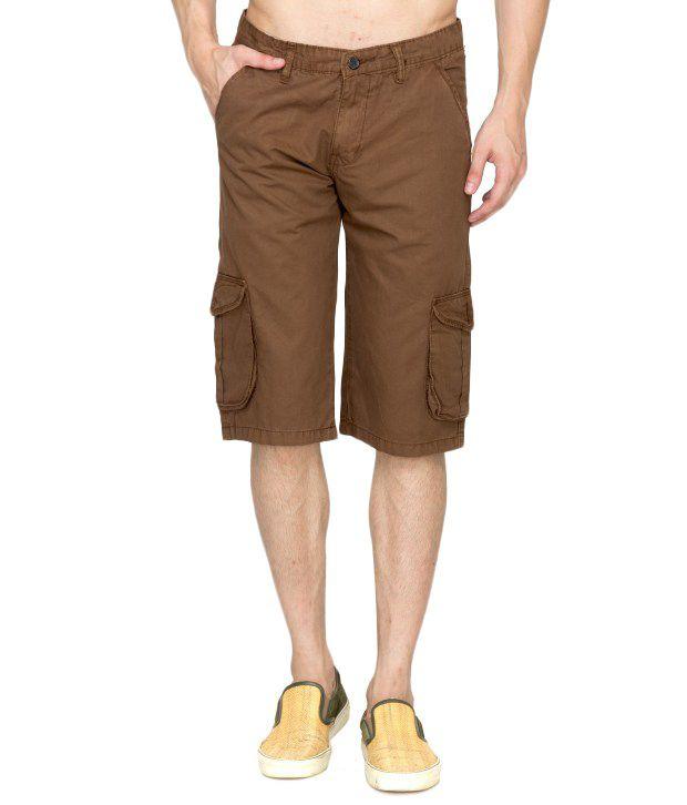GBOS Brown Shorts
