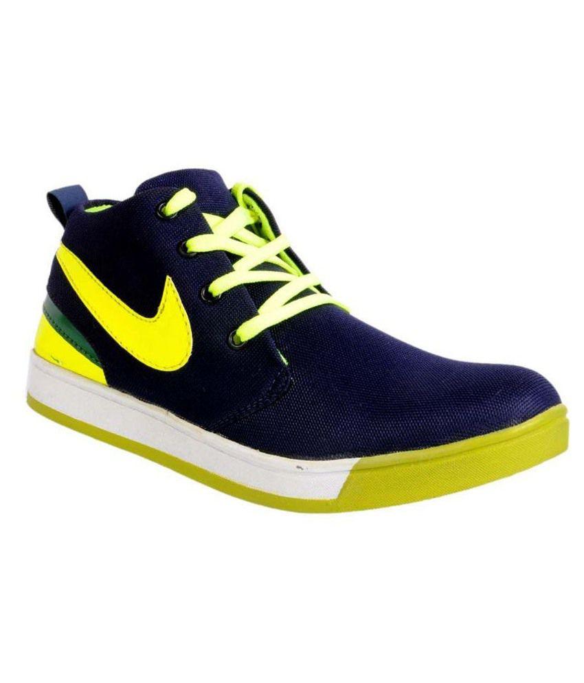 Lagesto Econogo Yellow & Blue Boots