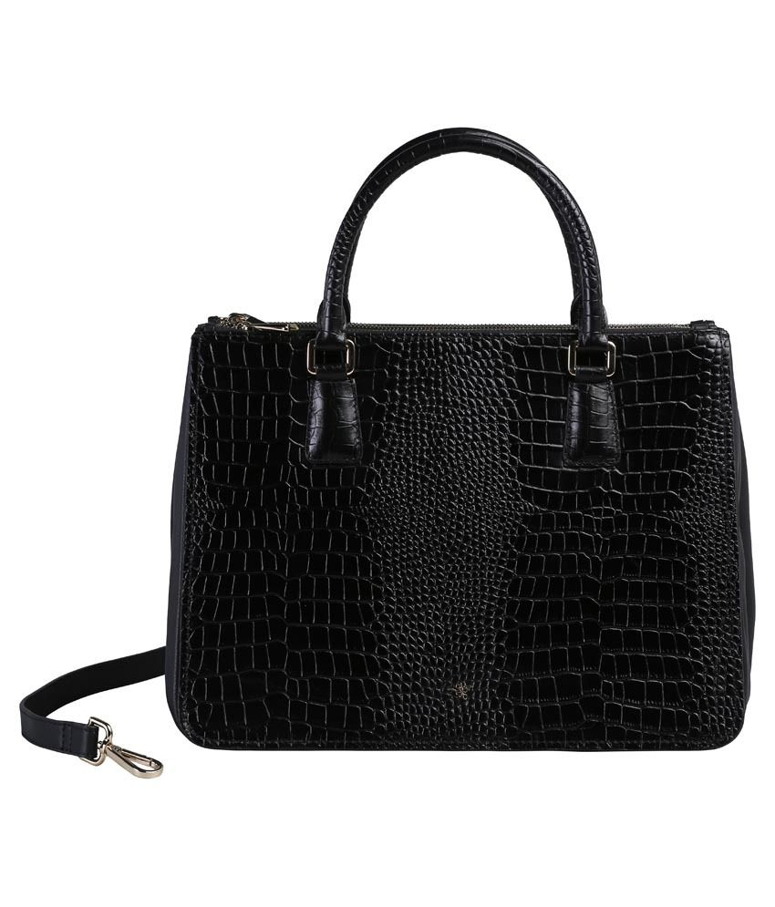 Ilex London Black Shoulder Bag
