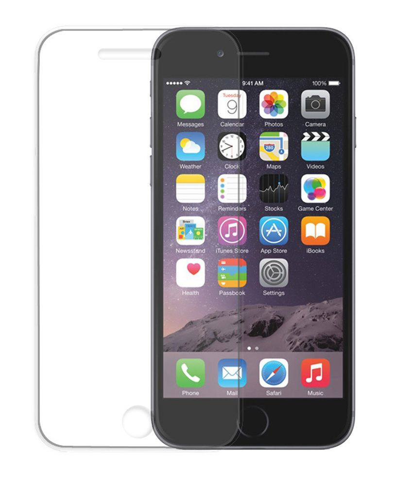 Apple iPhone 6 Tempered Glass  Screen Guard by Bs Enterprises