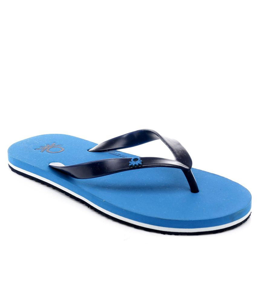 86c45e73f United Colors Of Benetton Blue Slippers Price in India- Buy United Colors  Of Benetton Blue Slippers Online at Snapdeal