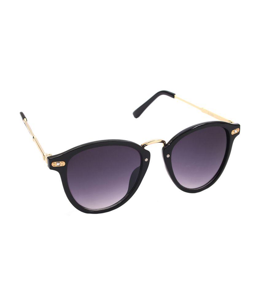 6by6 Purple & Gold Cat Eye Women Sunglasses