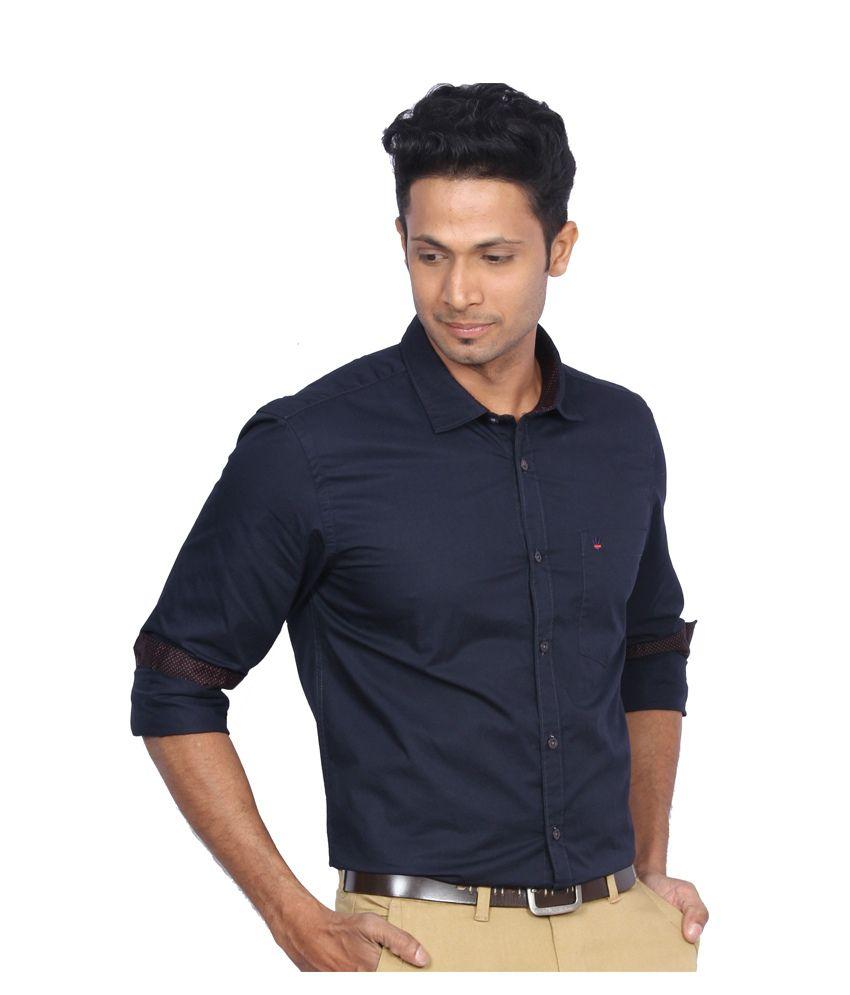 D'Indian Club Navy Casual Shirt