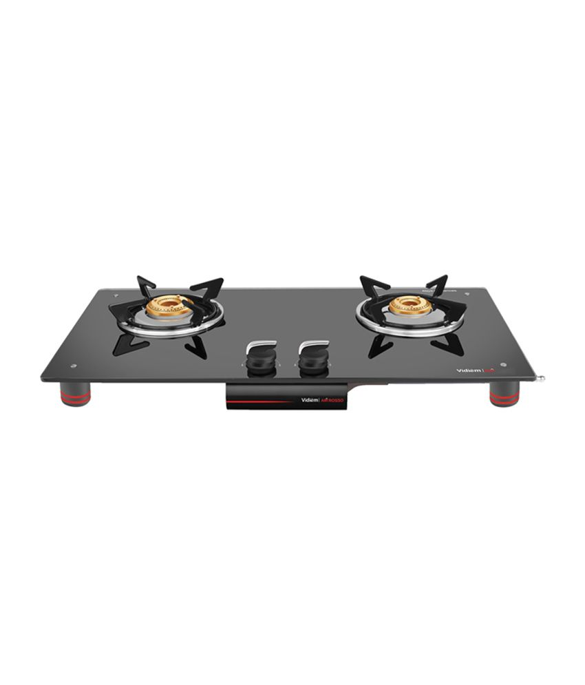 Vidiem Air Rosso Gas Cooktop (2 Burner)