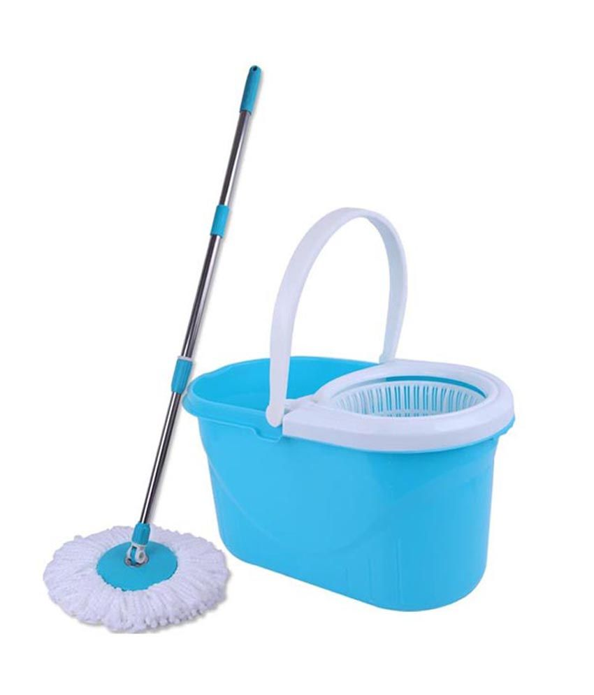 Easy Mop With Bucket (Color As Per Availability): Buy Easy Mop With Bucket (Color As Per