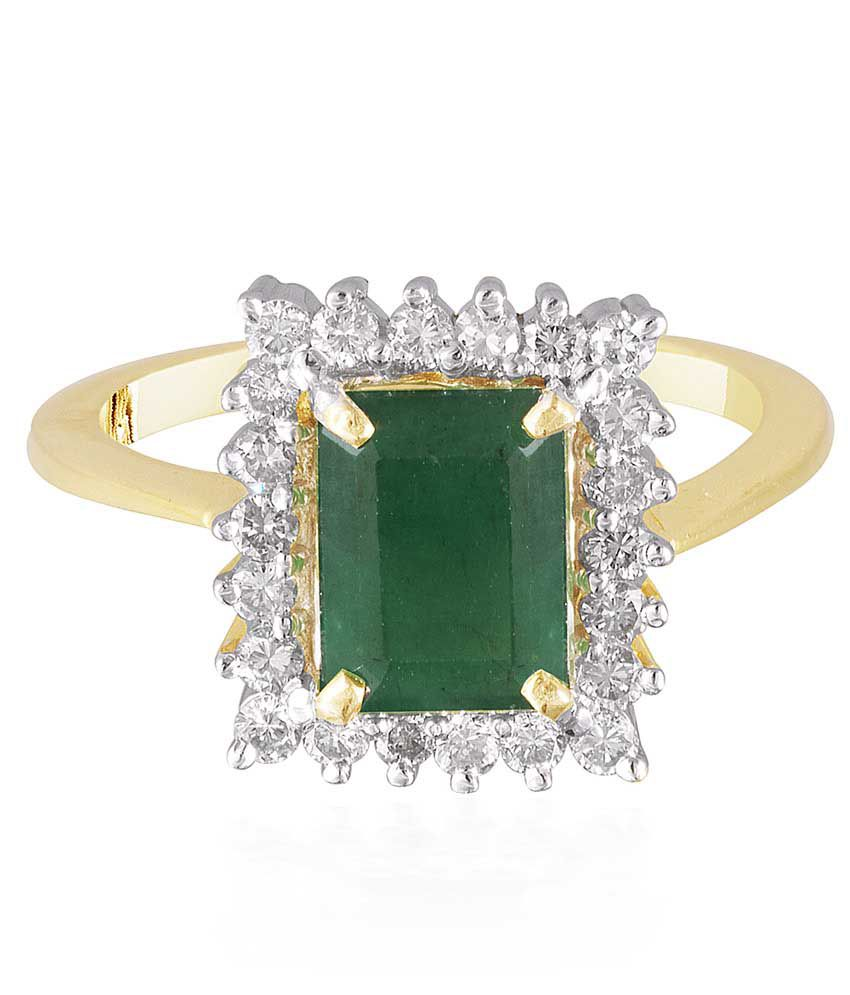 JD Solitaire 14Kt Gold Diamond Ring