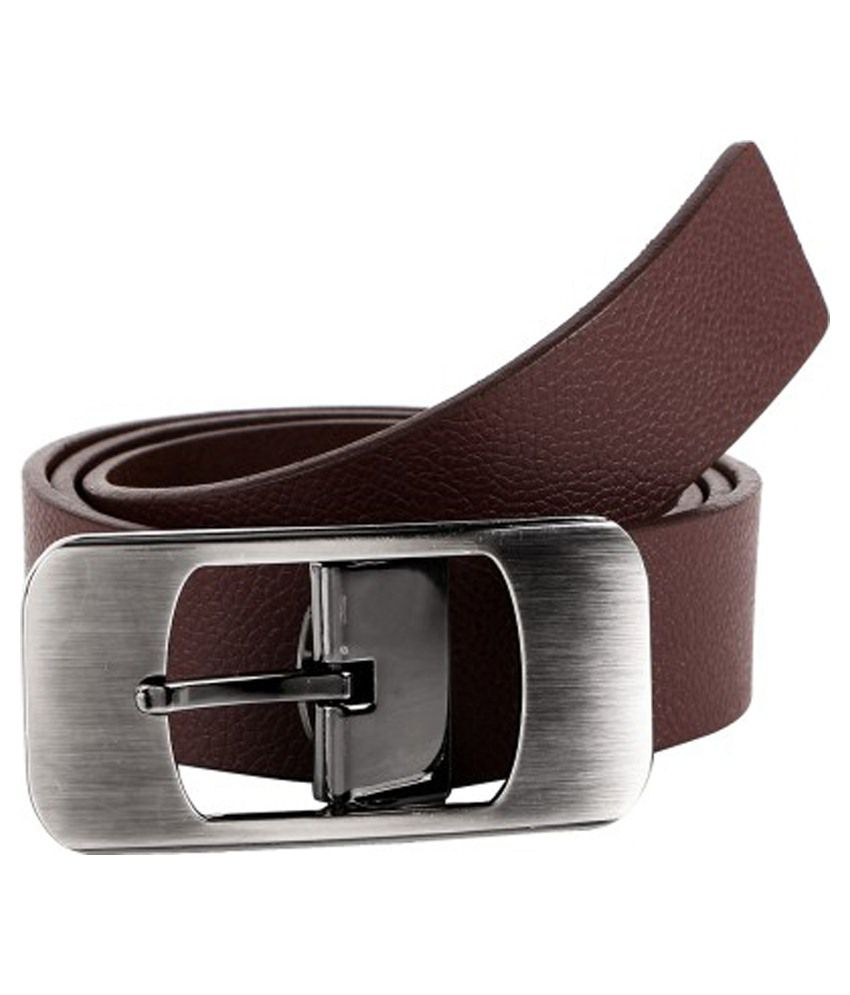 Rigado Brown Leather Formal Belt