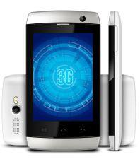 Karbonn A1+ Champ (3G) 512 MB Silver White