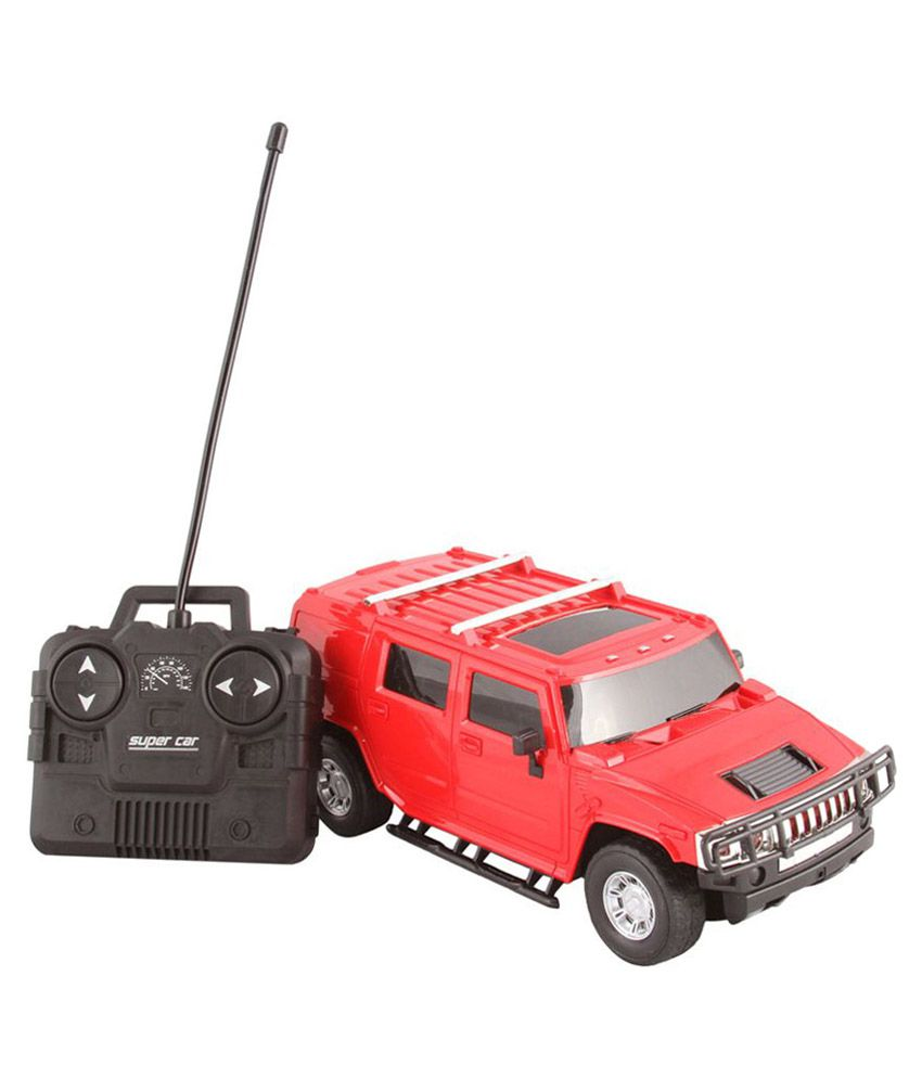 Scrazy Red Hummer Steering Remote Control Car Best Price in India on 22nd September 2018 - DealTuno