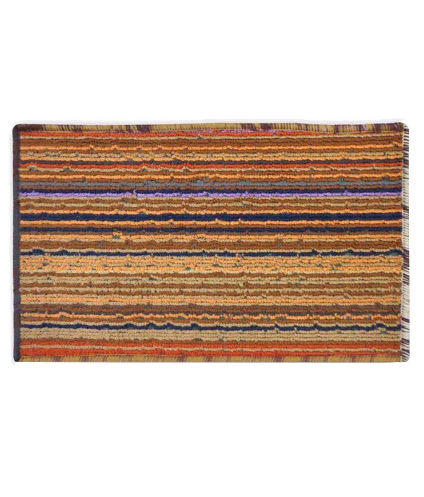 Status Stripes Cotton Schenelle Floor Mat