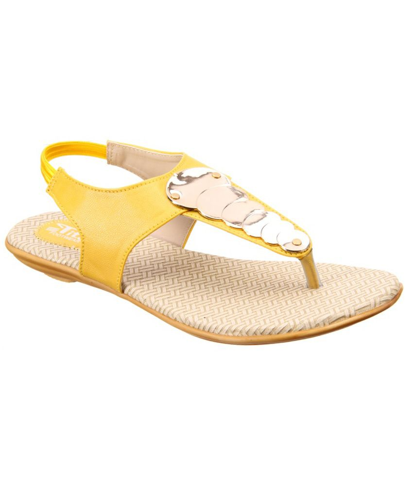 Titas Yellow Sandals