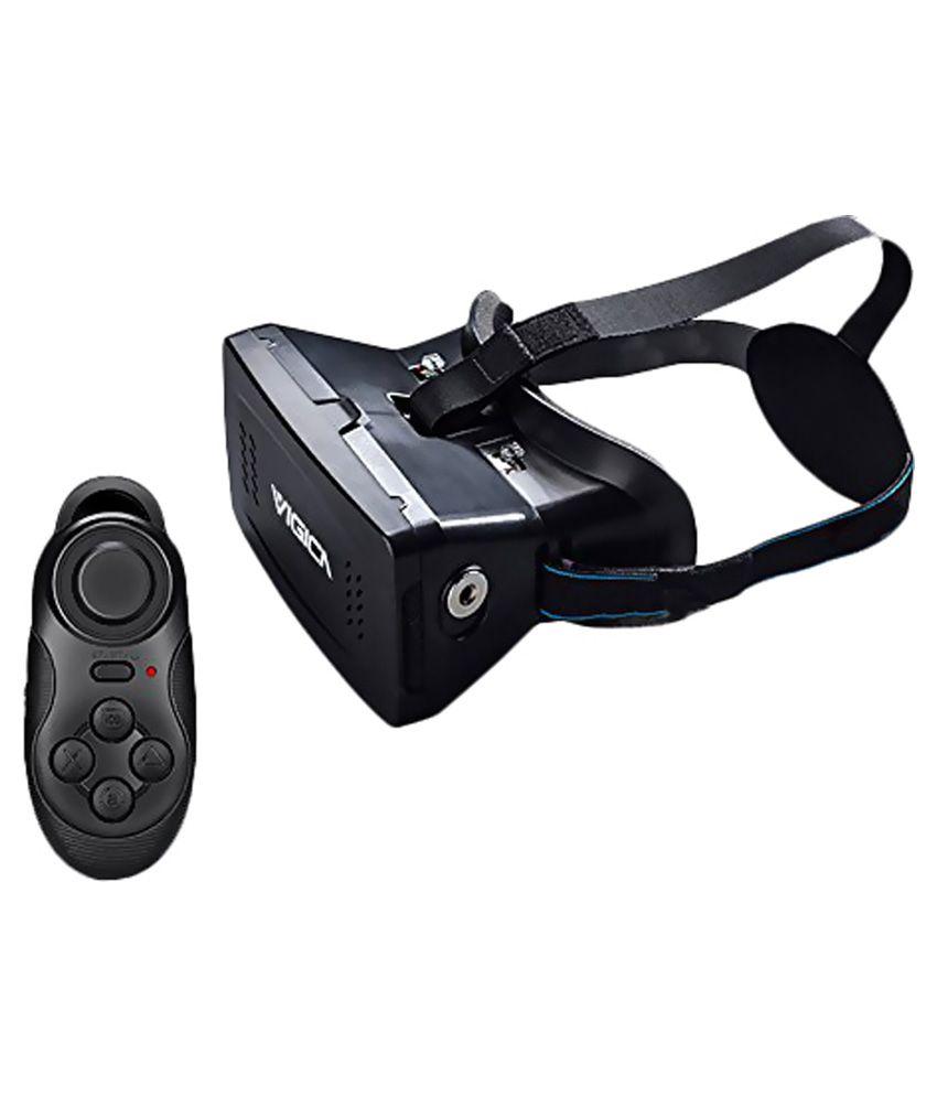 Vigica 3D Virtual Reality Headset with Bluetooth Gamepad