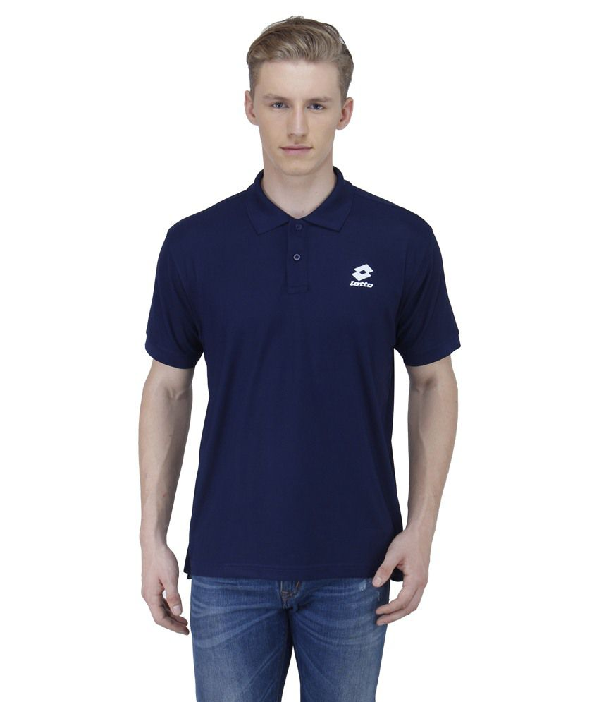 LOTTO MENS POLO NECK T SHIRTS