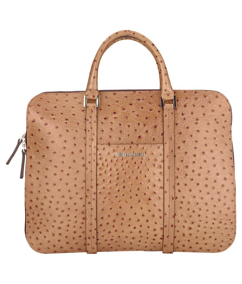 Dsquared2 Brown Laptop Case