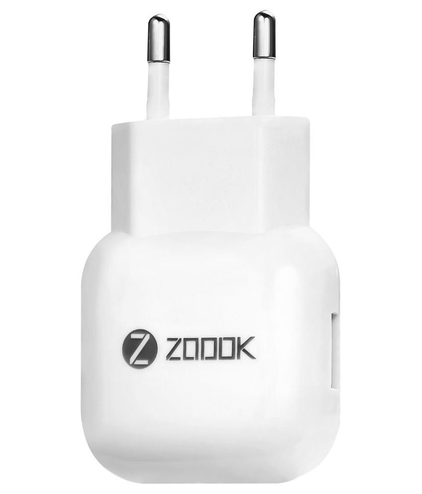 Zoook ZF-TC1A USB Travel Charger - White