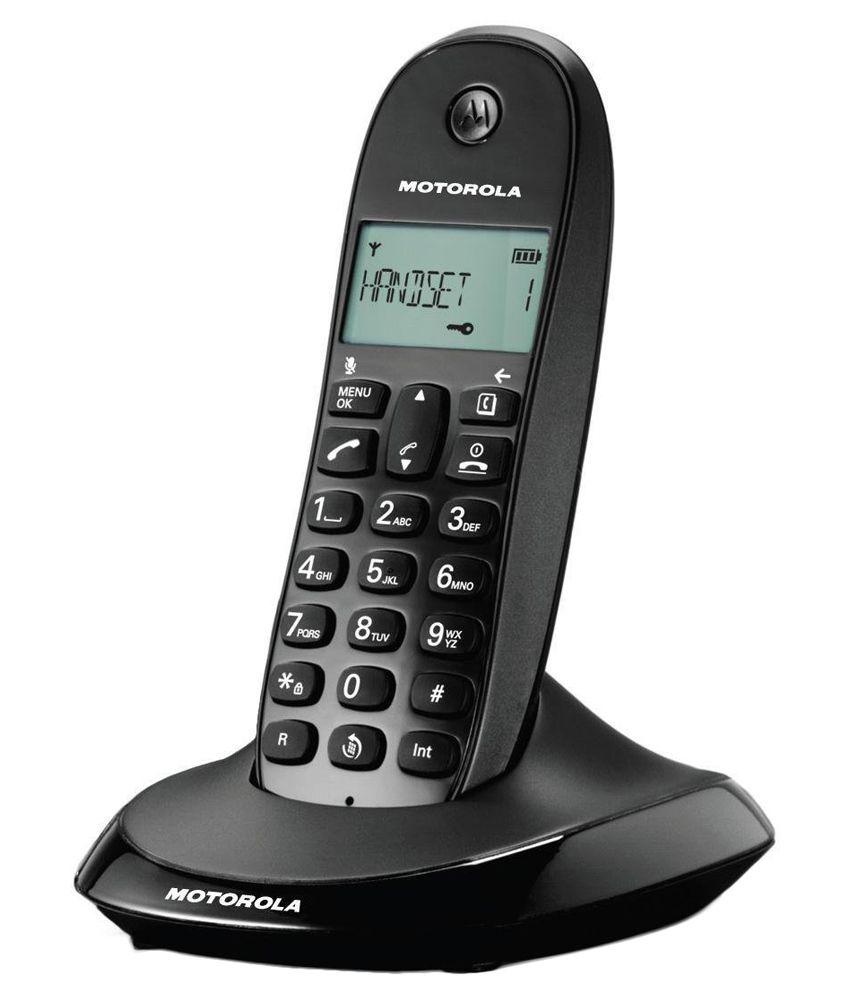 Motorola C1001li Cordless Phone
