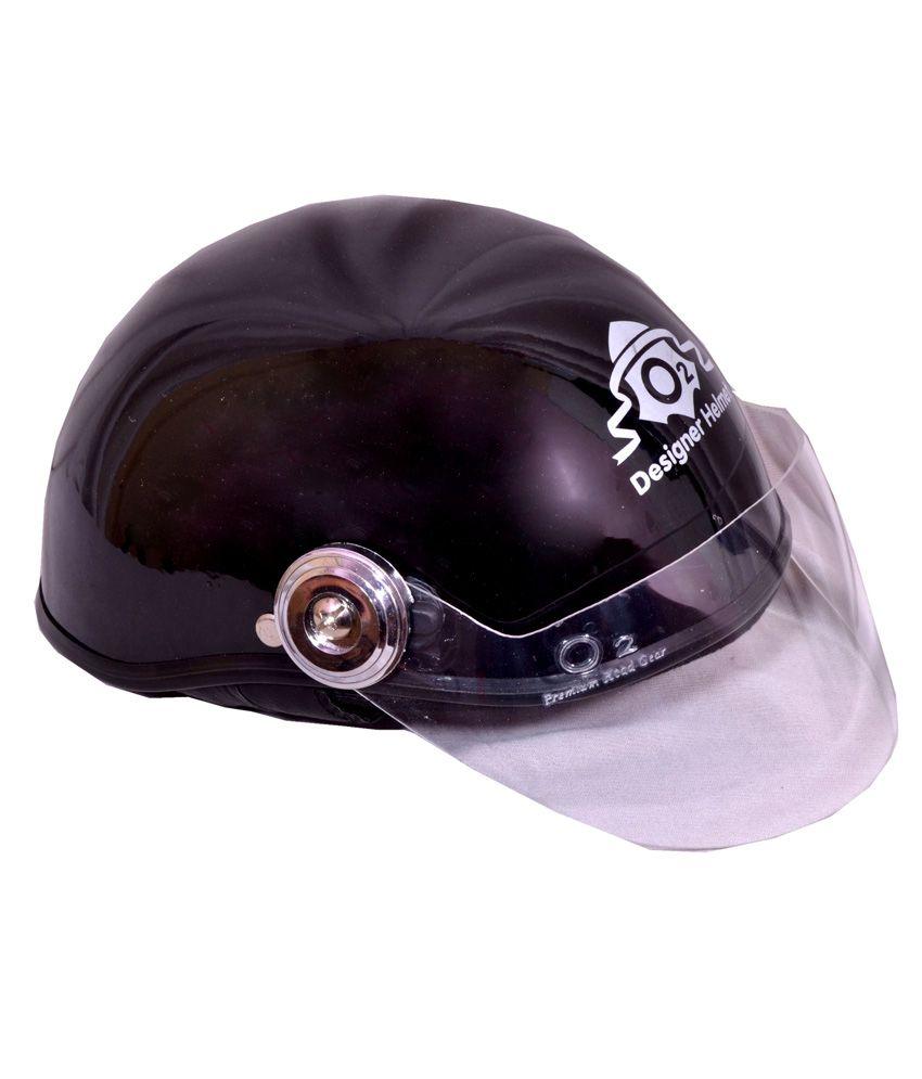 5f7edc9b5 O2 Black Unisex Mini Cap Helmet  Buy O2 Black Unisex Mini Cap Helmet Online  at Low Price in India on Snapdeal