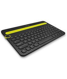 Logitech k480 Bluetooth External Keyboard Black - For Tablets, Mobiles, Laptops & Desktops