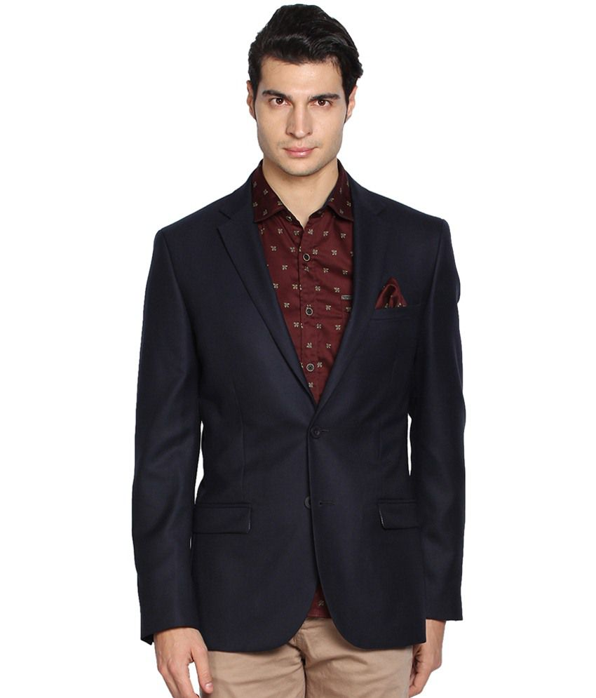 b003a9e64e Black Coffee Navy Blue Blazer for Men - Buy Black Coffee Navy Blue Blazer  for Men Online at Best Prices in India on Snapdeal