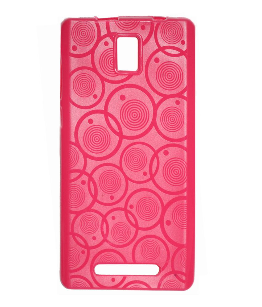 brand new 93535 11861 Gizmofreaks Back Cover Case For Xolo Era - Pink