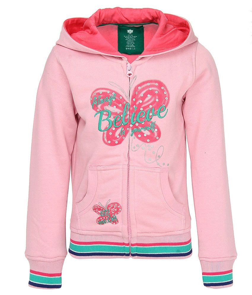 612 League Pink Full Sleeves Regular Sweatshirt