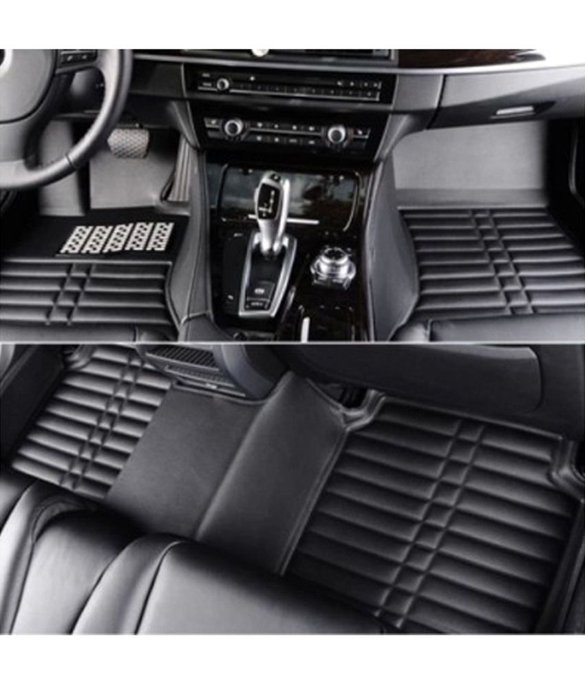 Floor mats for xuv500 -  Auto Hub Black 5d Carpet Car Mat For Mahindra Xuv500