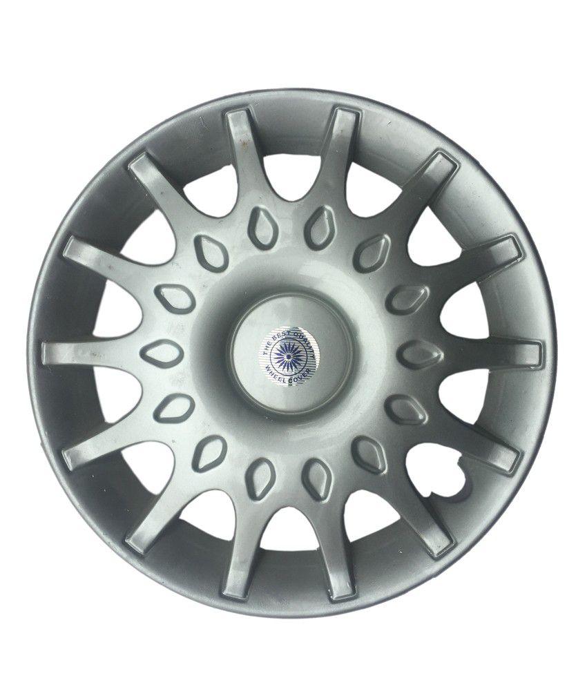 Cp Bigbasket Grey Wheel Cover For Maruti Suzuki Esteem - Set Of 4