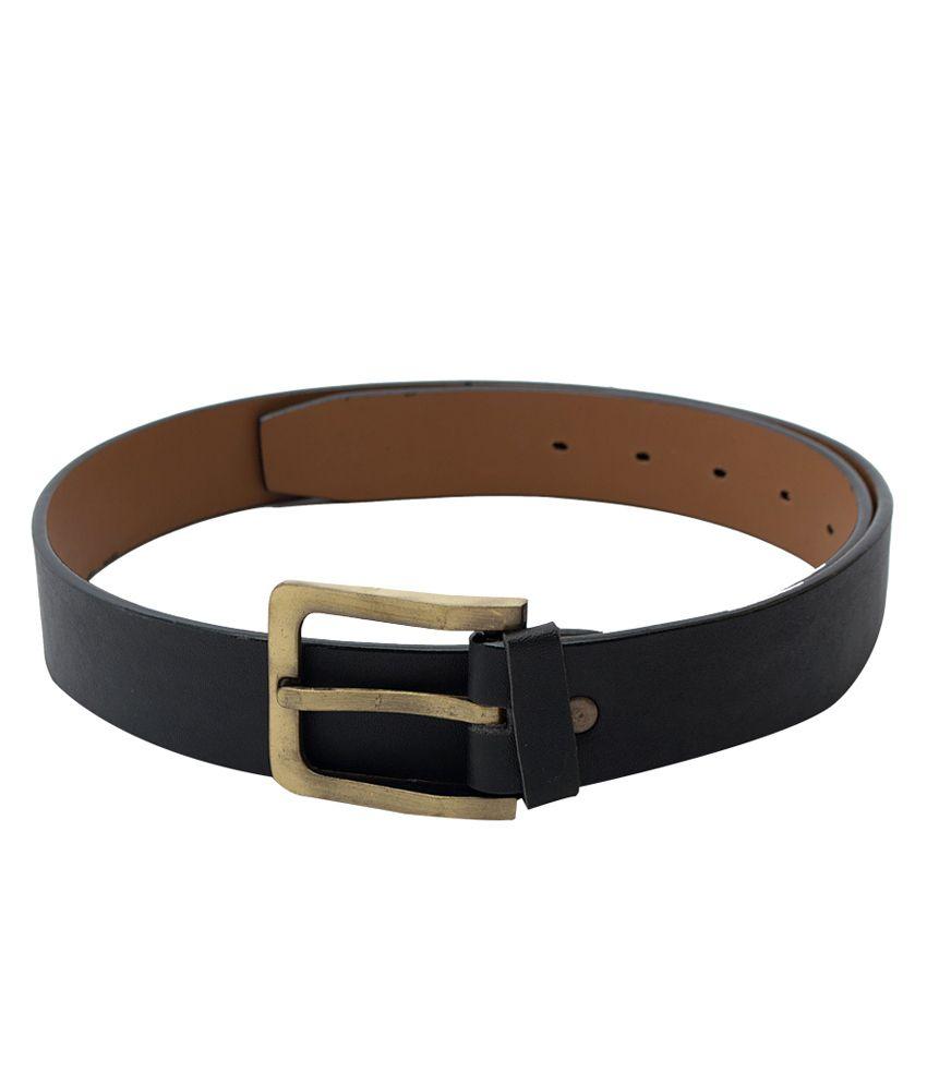 Skyways Black Non Leather Men Belt
