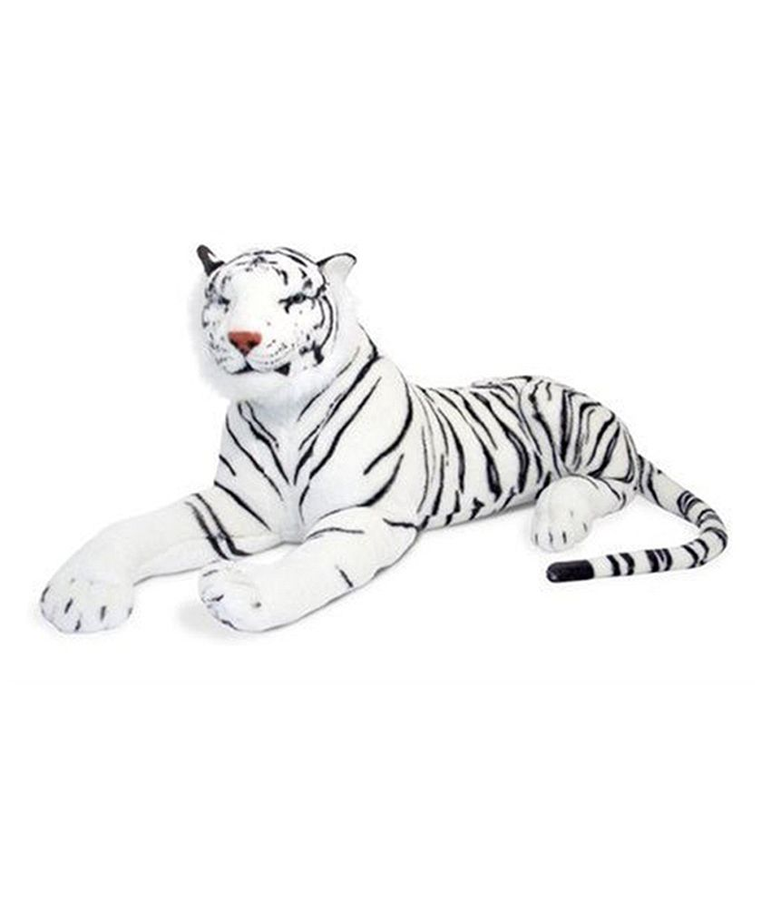 Gm Enterprises Gm Enterprises White Stuffed Tiger