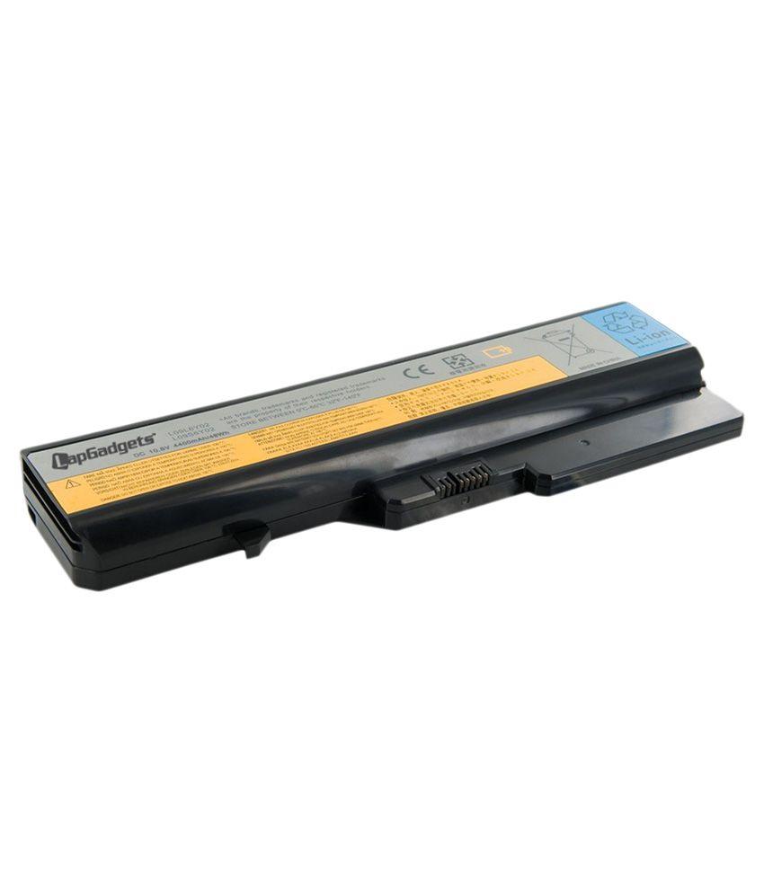 Lap Gadgets Li-on Laptop Battery for Lenovo Idea Pad B470G 6 Cell