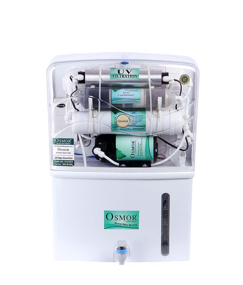 Osmor Diamond 10 Litre RO+UF+TDS+ALCKENISER Water Purifier
