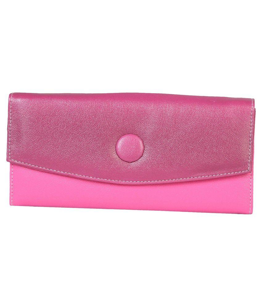PurpleYou Pink Casual Wallet