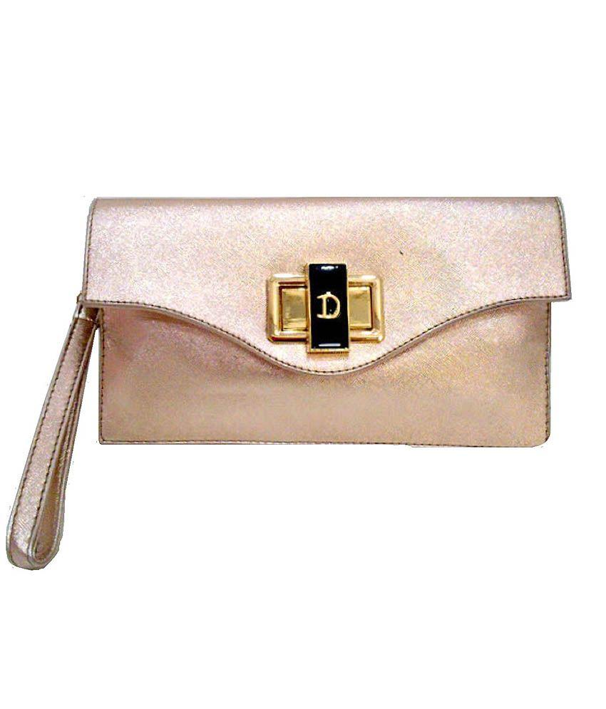 Di Classe Pinkish Beauty Sling Bag