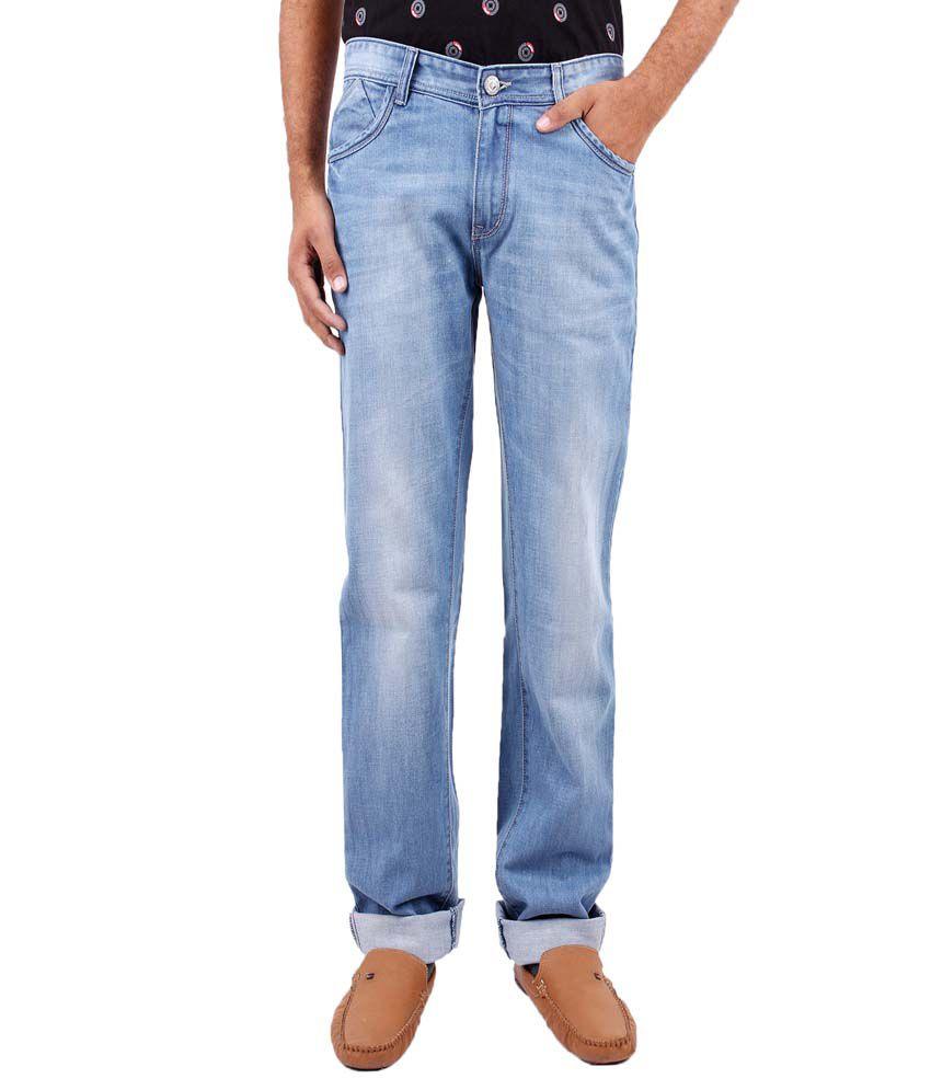 Fever Blue Regular Fit Jeans